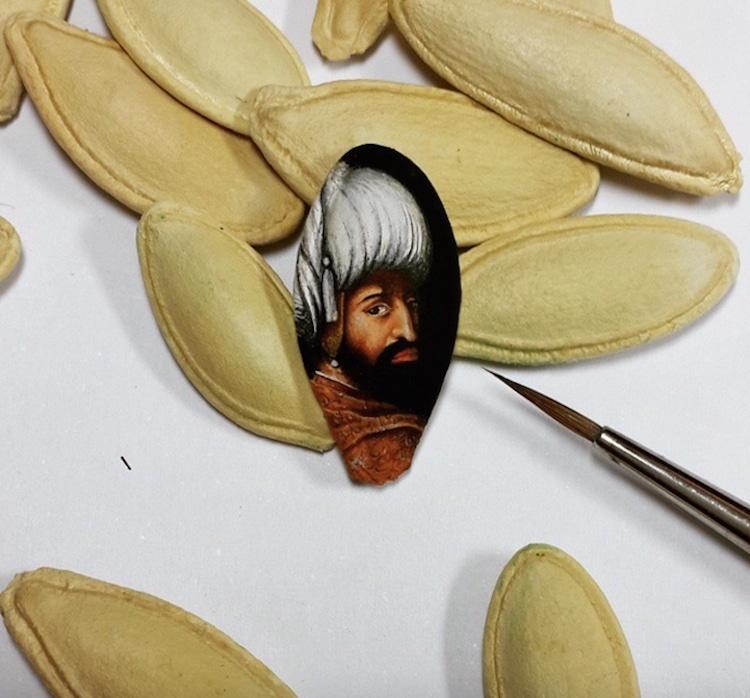Miniature Paintings Mini Paintings Miniature Painting Miniatures