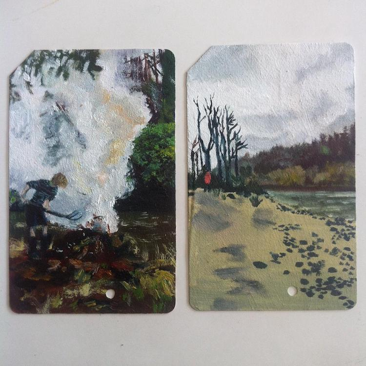 Single Fare Miniature Paintings