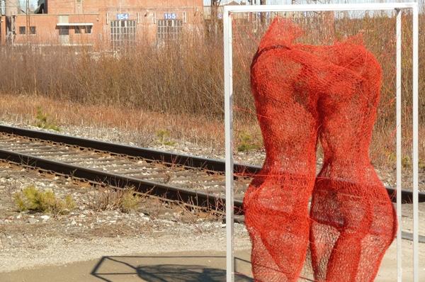 Nadia Zubareva Wire Sculpture Art
