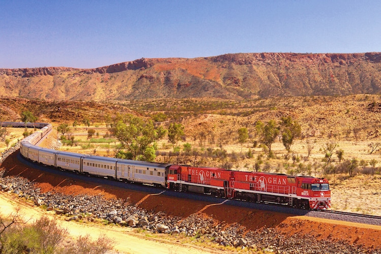 National Geographic Traveler Scenic Train Rides
