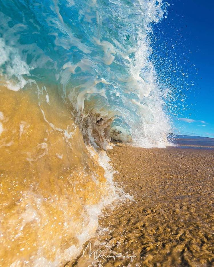 Ocean Photographs by Matt Burgess