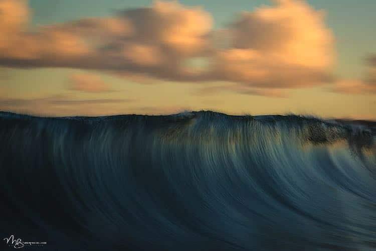 Fotos de olas del mar por Matt Burgess