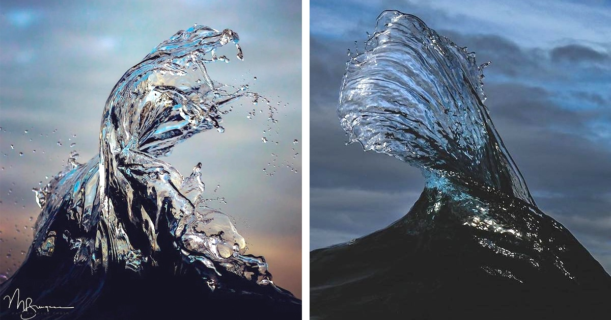 Photographer Spends Hours In Water Capturing Ocean Wave