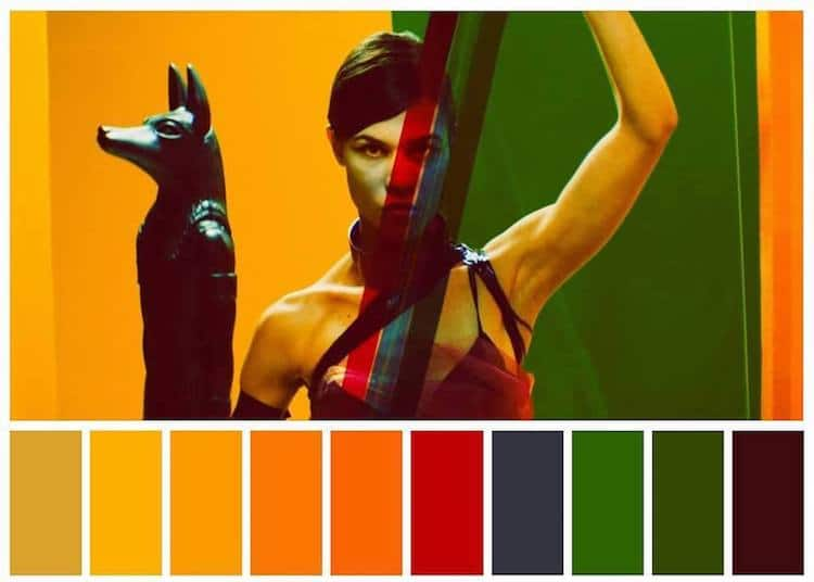 Color Palettes in Pop Culture