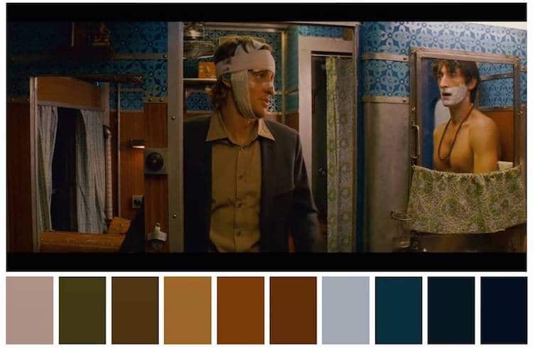 Color Palette in Movies
