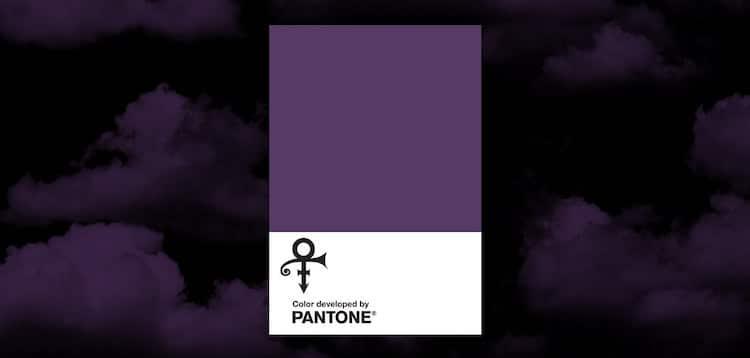 Pantone Purple Rain Prince Love Symbol 2