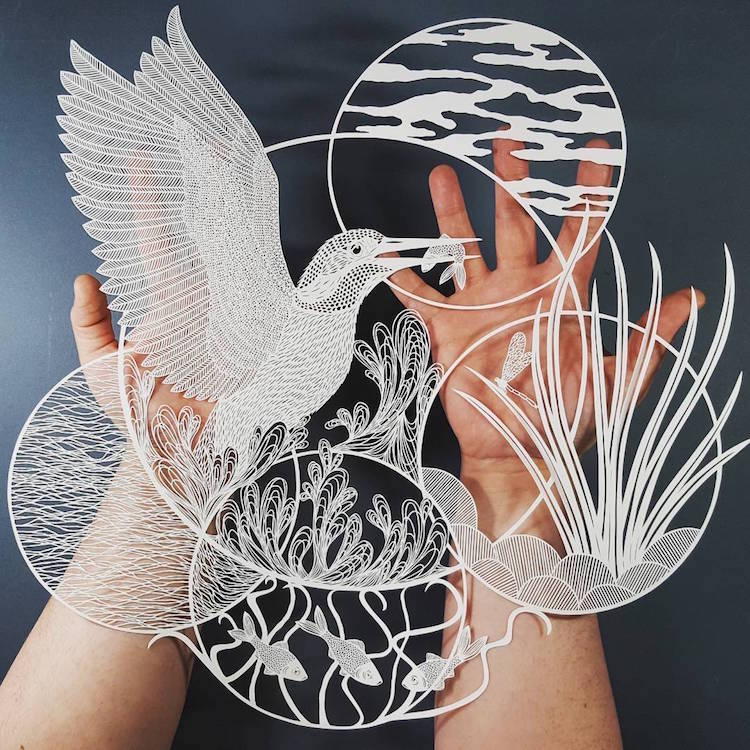 Paper Artist Paper Cutting Artist Cut Paper Art Paper Artists