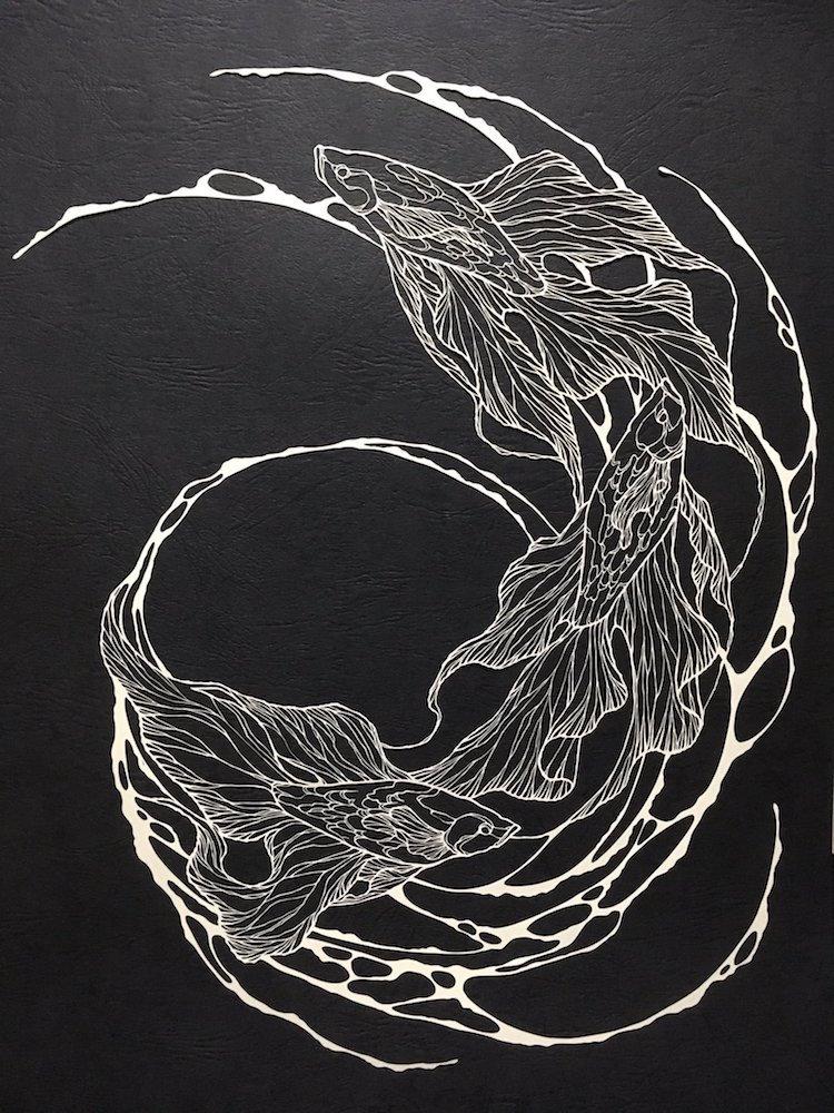 Paper Artist Paper Cutting Artist Cut Paper Art Paper Artists