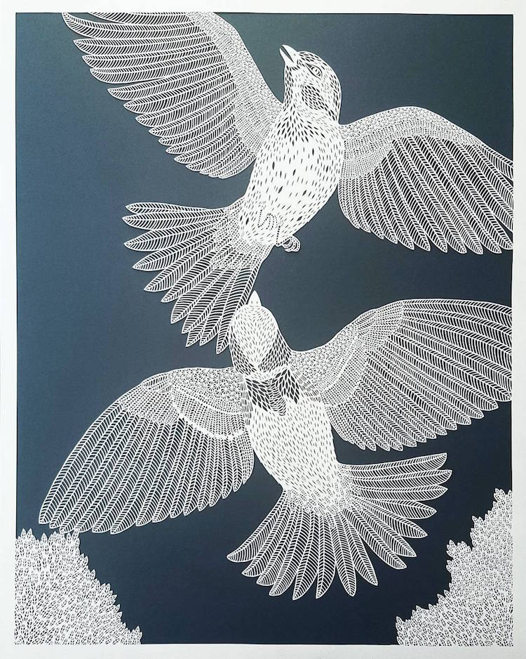 Paper Cutting Art Paper Cut Out Paper Art Pippa Dyrlaga