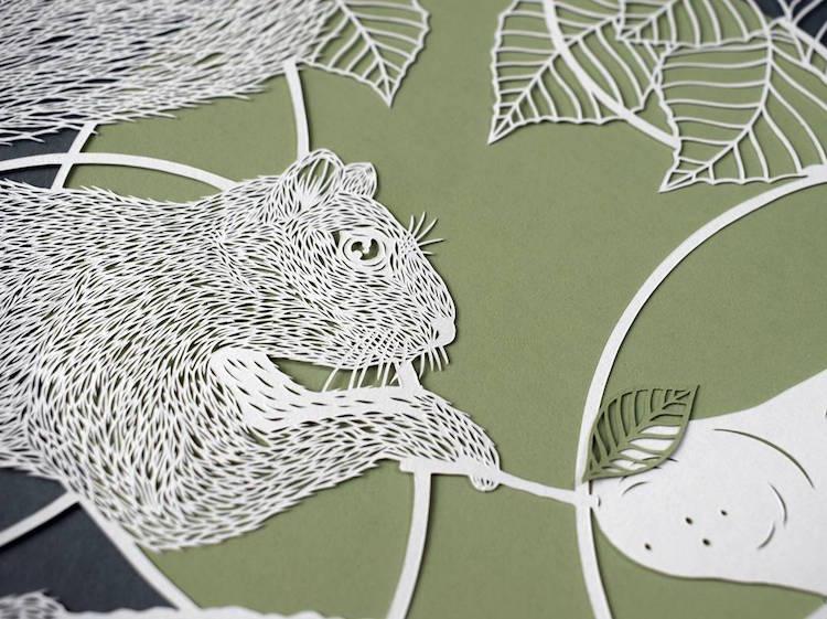 Paper Cutting Art Paper Cut Out Paper Art Pippa Dyrlaga