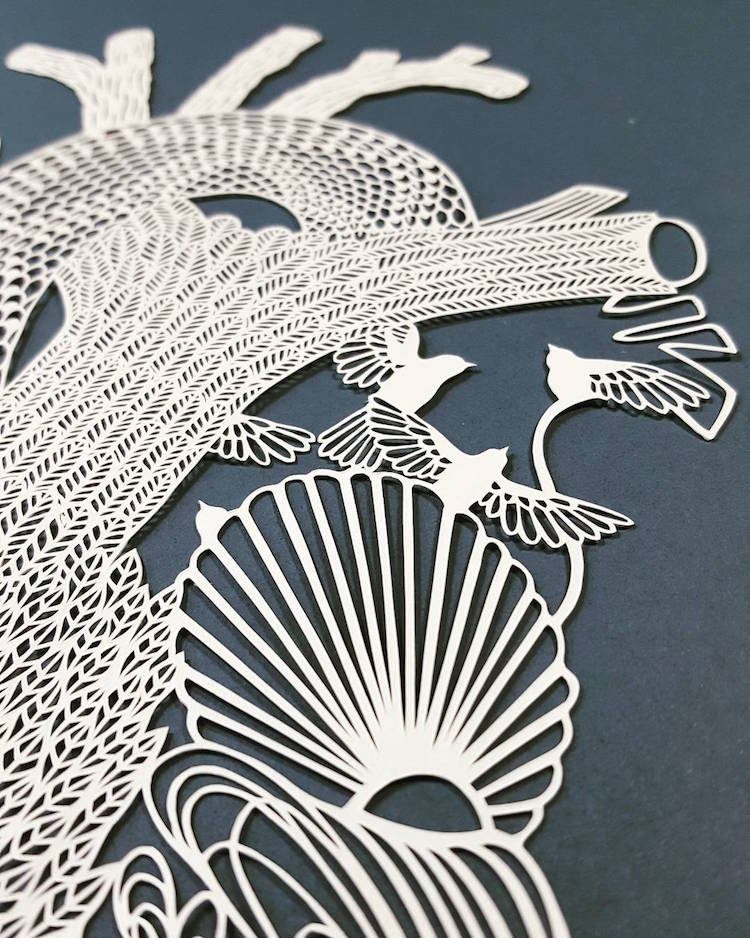 Cut Out Series Captures Intricate Details Possible With Paper