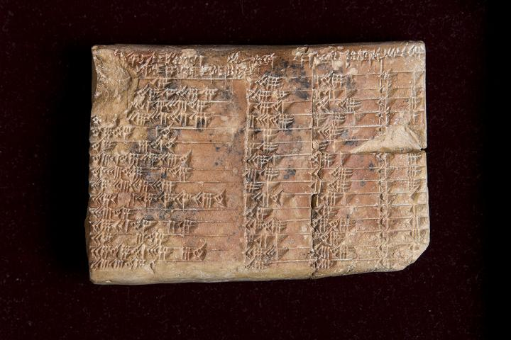 Plimpton 322 ancient Babylonia mathematics