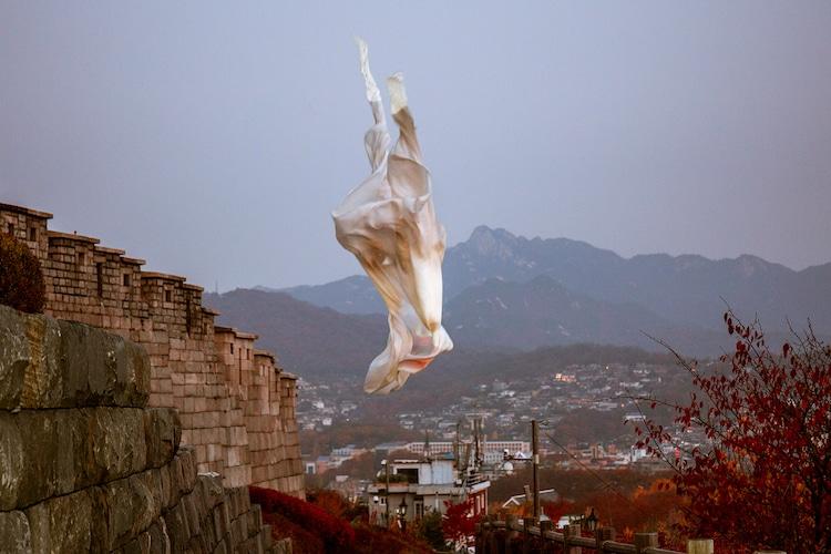 Projection Art Conversations Wonjun Jeong Photography