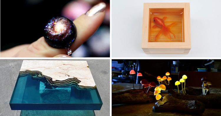 Resin Art Resin Jewelry Resin Sculpture Resin Furniture Resin Painting