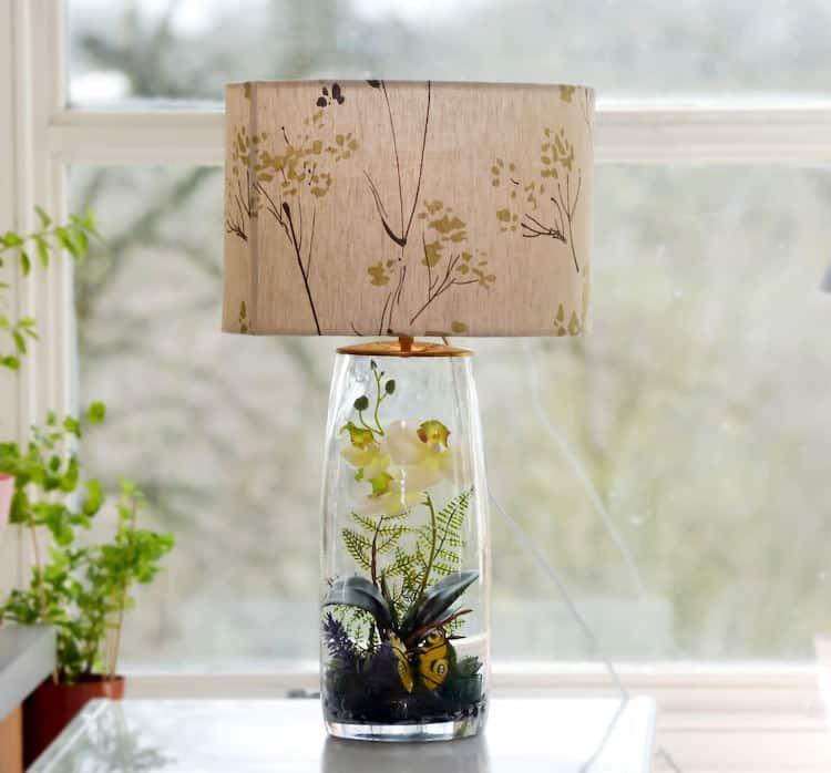 Terrarium Base Lamp