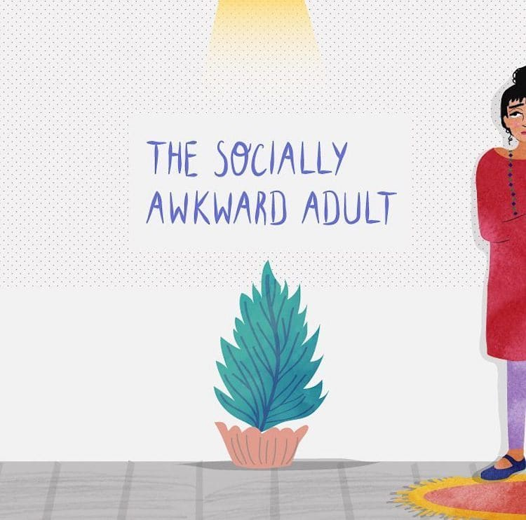 Introvert Character Traits Illustrated by Neethi