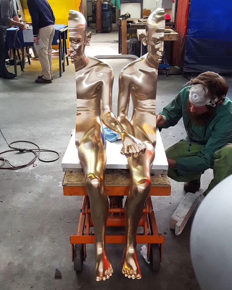 Figurative Sculpture Bronze Sculpture Surreal Art Anders Krisar