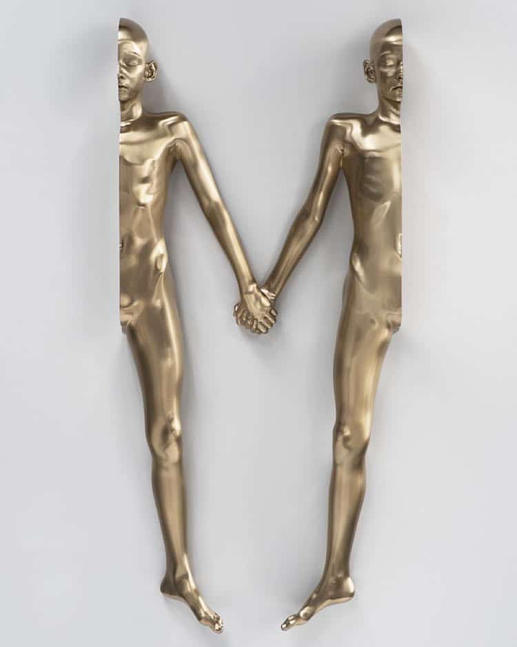Figurative Sculpture Bronze Sculpture Surreal Art Anders Krisar