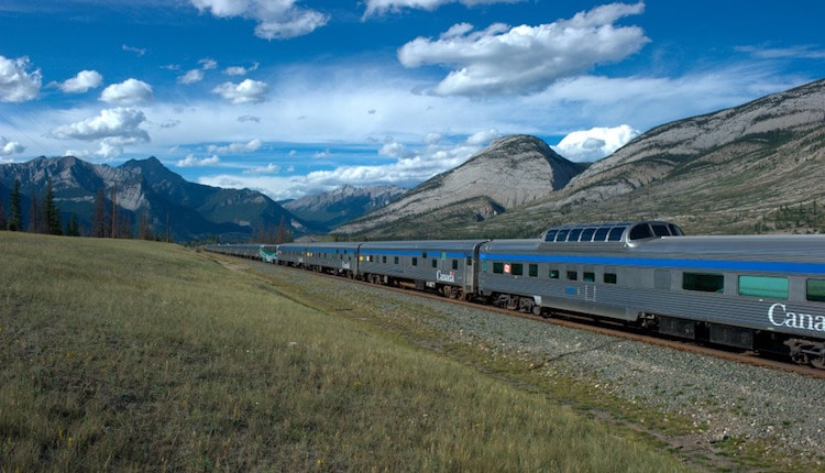 Via Rail the Canadian Train Trips
