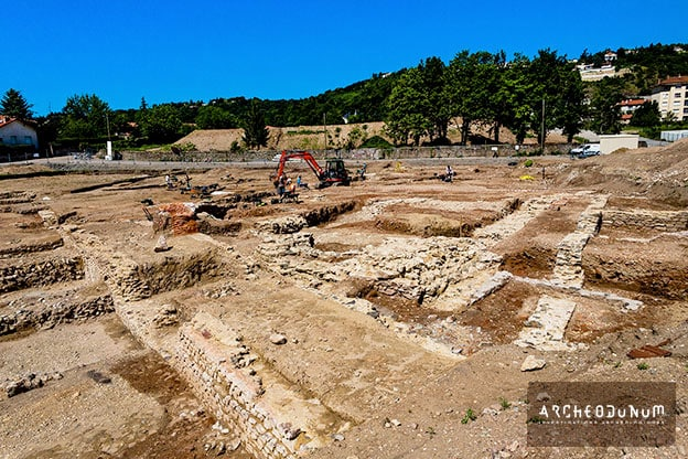 vienne archaeological site little pompeii