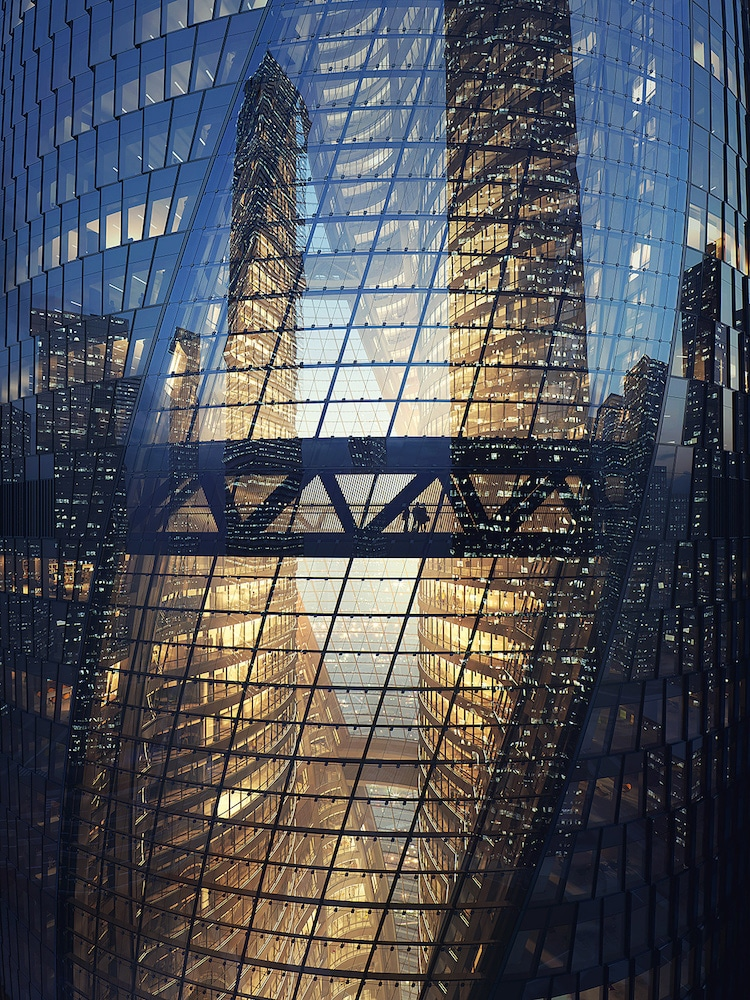 Leeza SOHO Zaha Hadid Architects