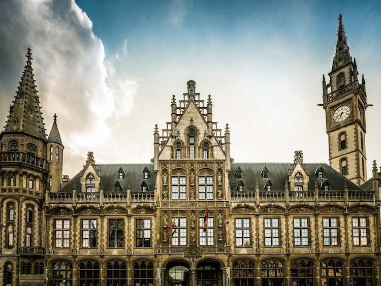 1898 The Post - Ghent, Belgium