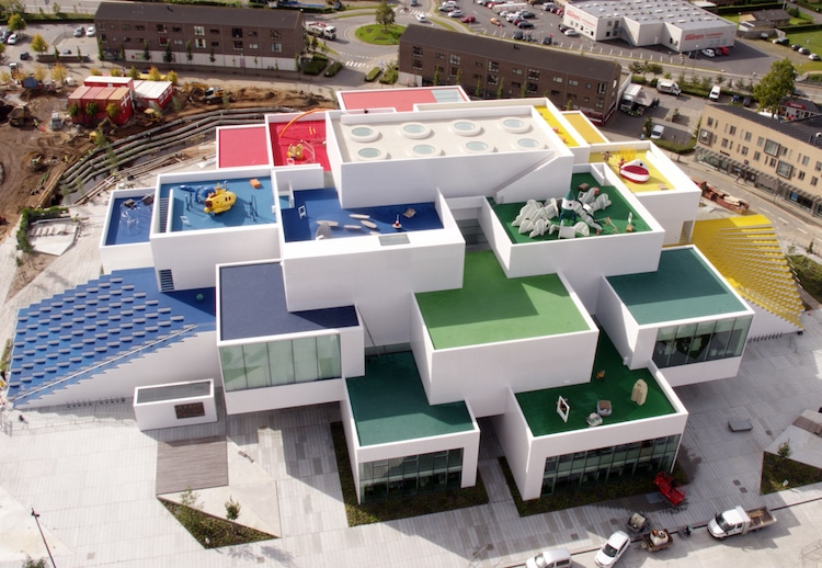 LEGO House billund denmark big architecture