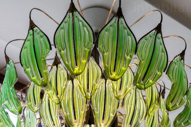 Algae Chandelier green design Julian Melchiorri