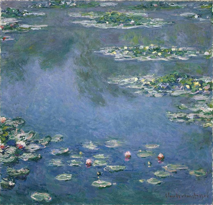 types of art impressionism