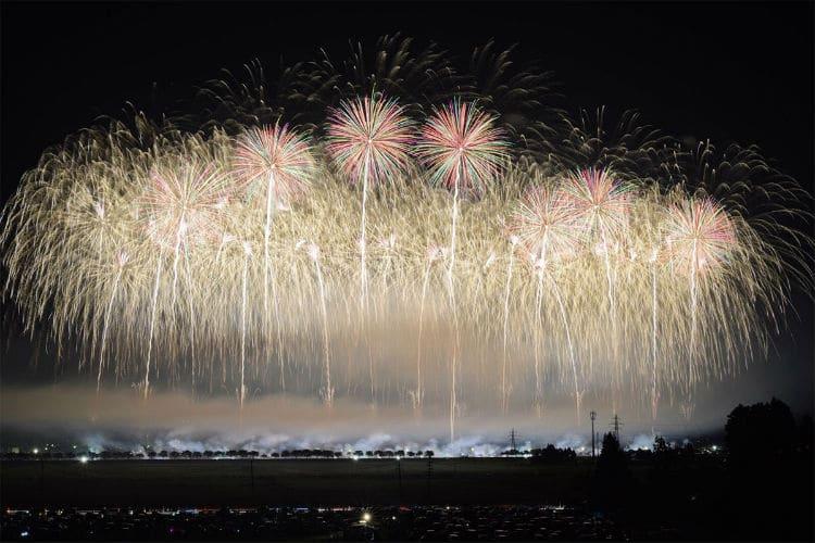 Japan Fireworks Festival Photography Hanabi Taikai Keisuke