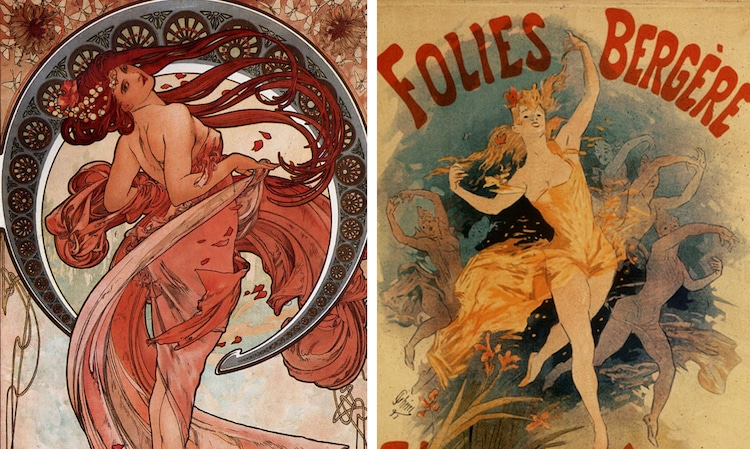 Fabuleux Beautiful Vintage Art Nouveau Posters From the Turn of the Century NP25