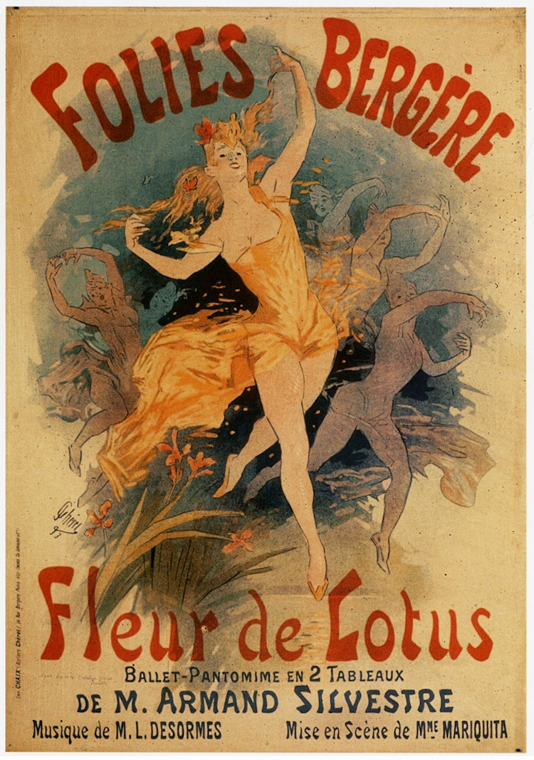 Beautiful Vintage Art Nouveau Posters