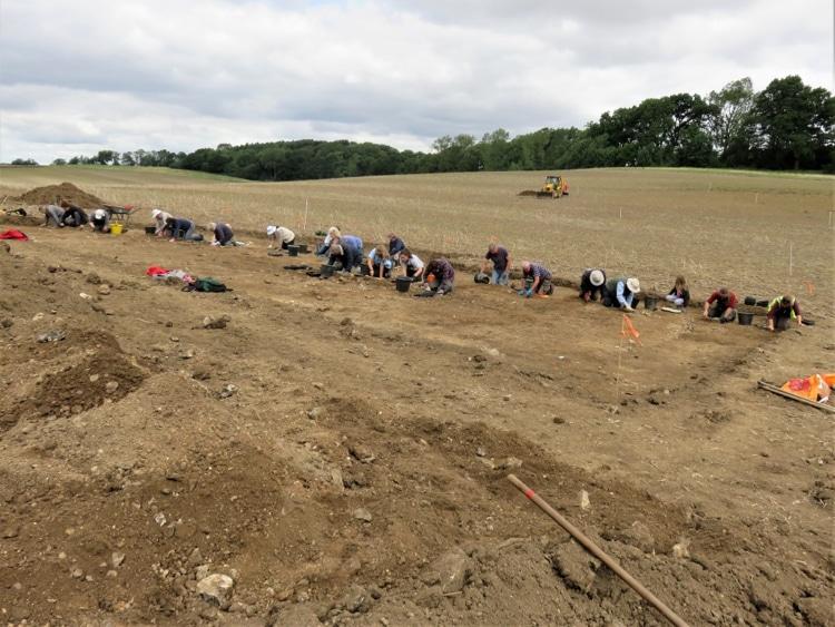 Boxford Ancient Roman Mosaic Discovery