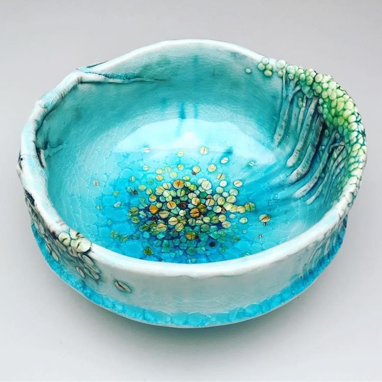 Ceramic Tree Vessels Heesoo Lee