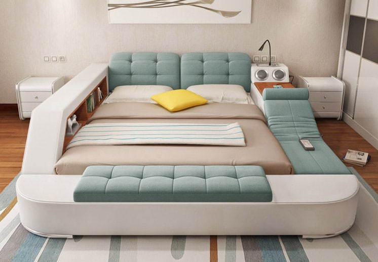 This cool bed is the ultimate piece of multifunctional for The best bed designs