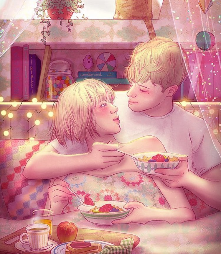 Illustrated Love Stories by Hyocheon Jeong