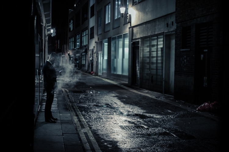 Edo Zollo London Night Photography