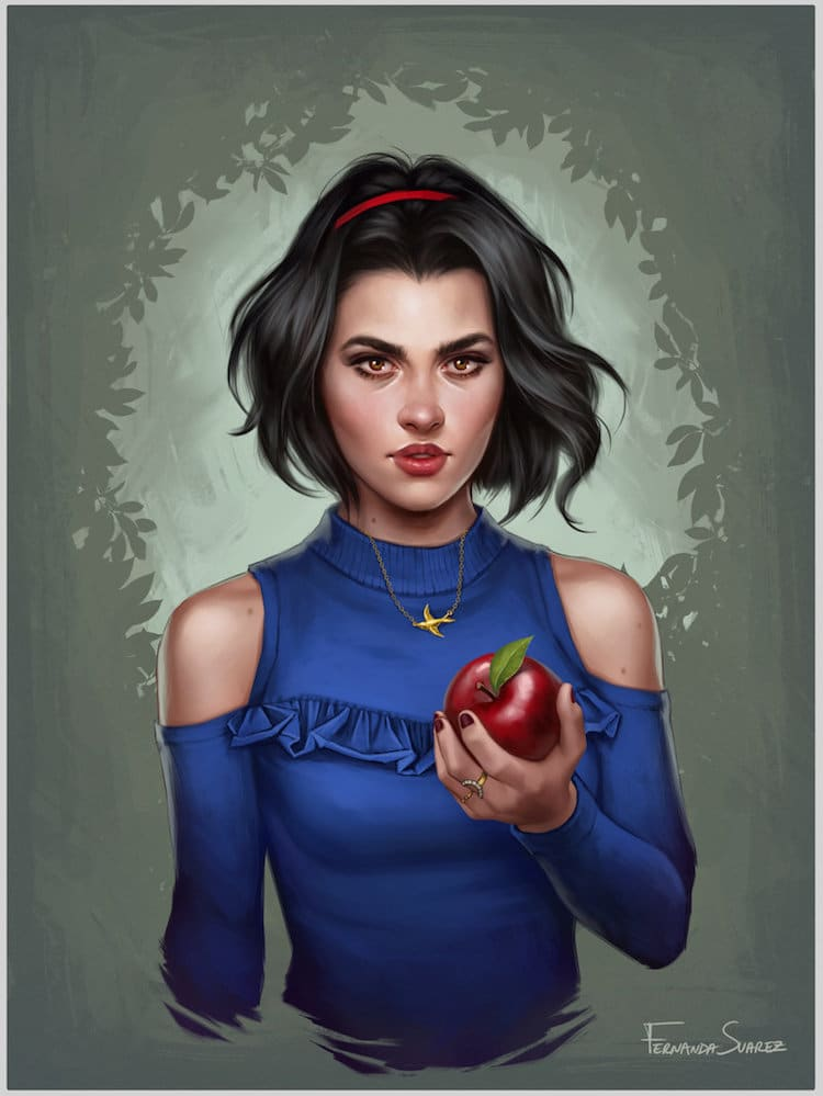 Modern Disney Princesses by Fernanda Suarez