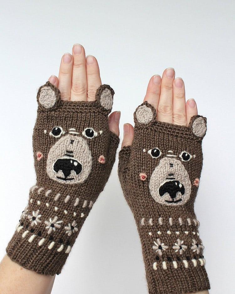 Handmade Fingerless Gloves