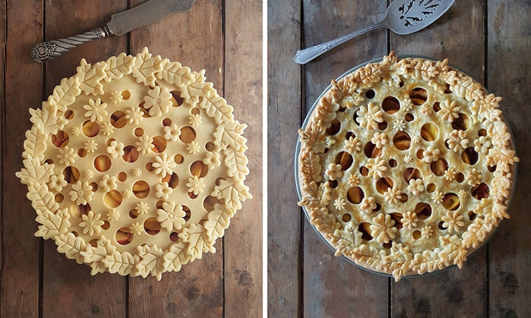 Food Art Pies By Karin Pfeiff Boschek
