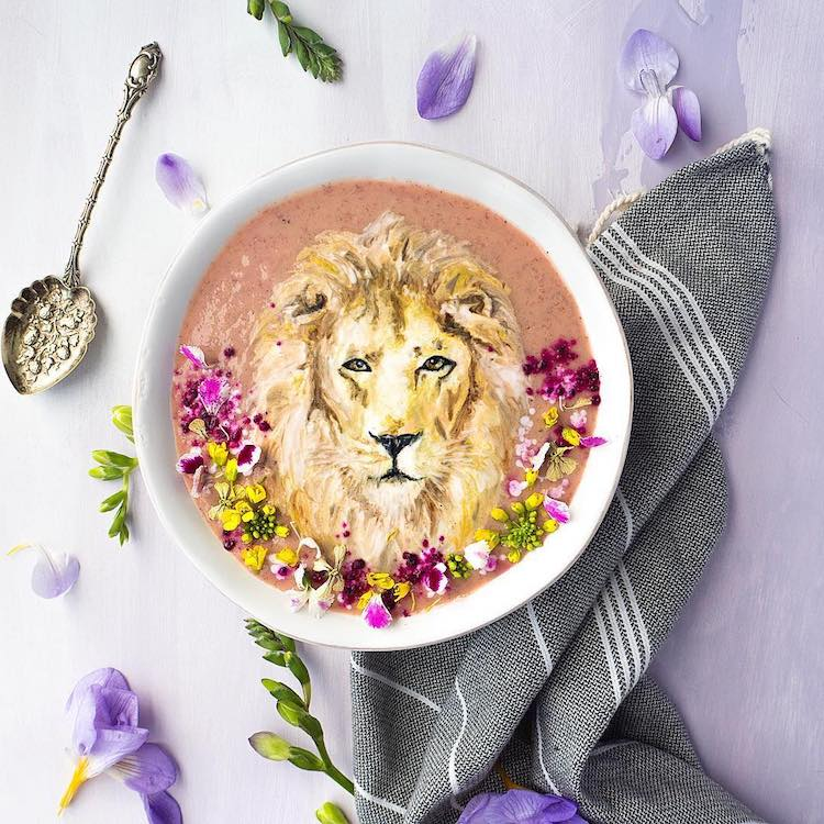 Food Art Smoothie Bowls