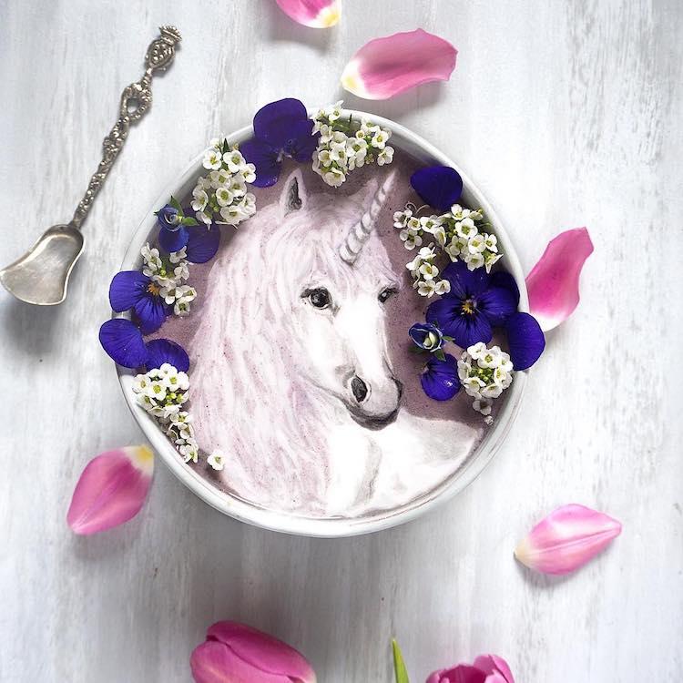 Food Art Smoothie Bowls