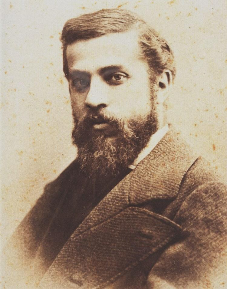 Foto del arquitecto catalán Antoni Gaudi