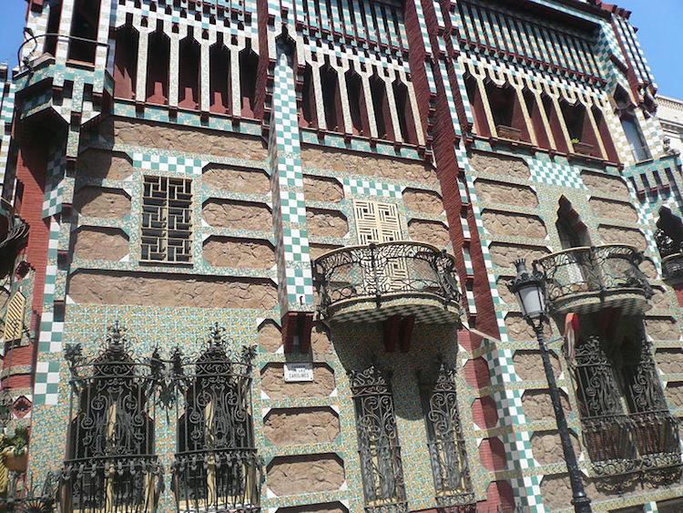 Casa Vicens de Antoni Gaudí