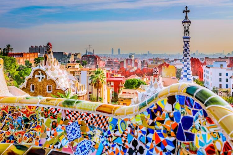 Park Güell de Antoni Gaudí
