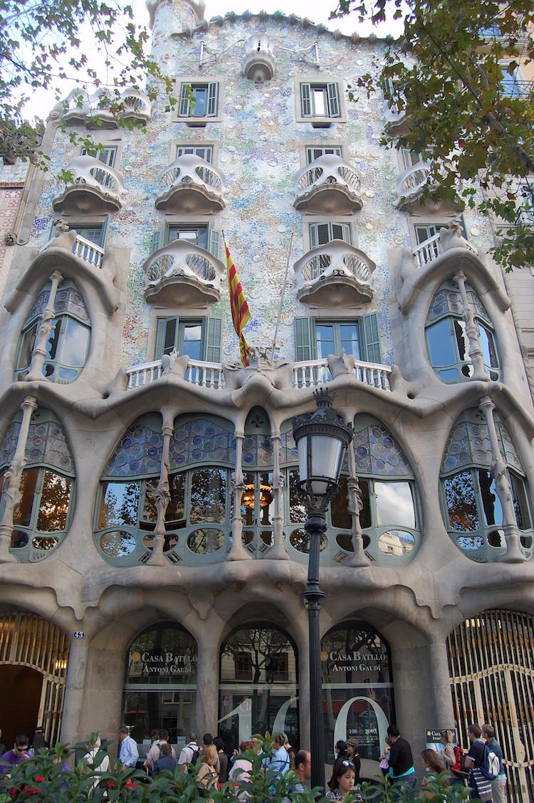 Casa Batlló de Antonio Gaudi