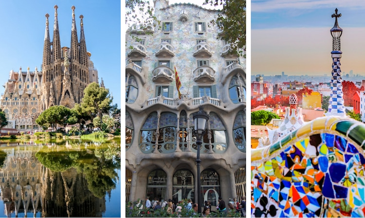 Arquitectura modernista de Antoni Gaudí