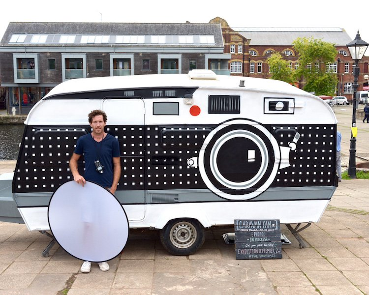 Giant Camera DIY Photobooth by Brendan Barry