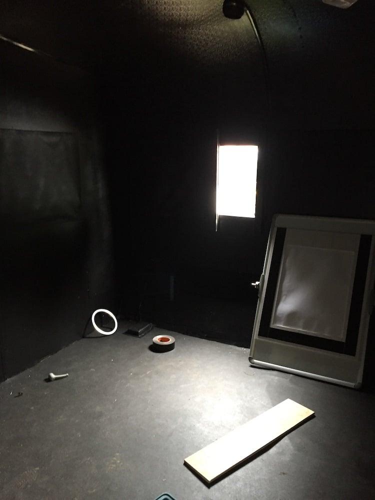 Giant Camera DIY Photobooth by Brendan Barry