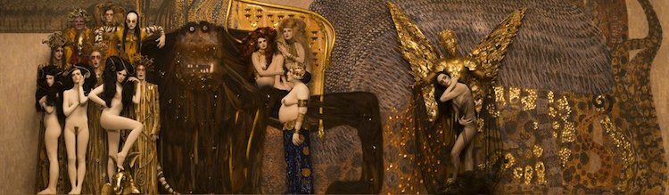 Gustav Klimt Recreations by Inge Prader